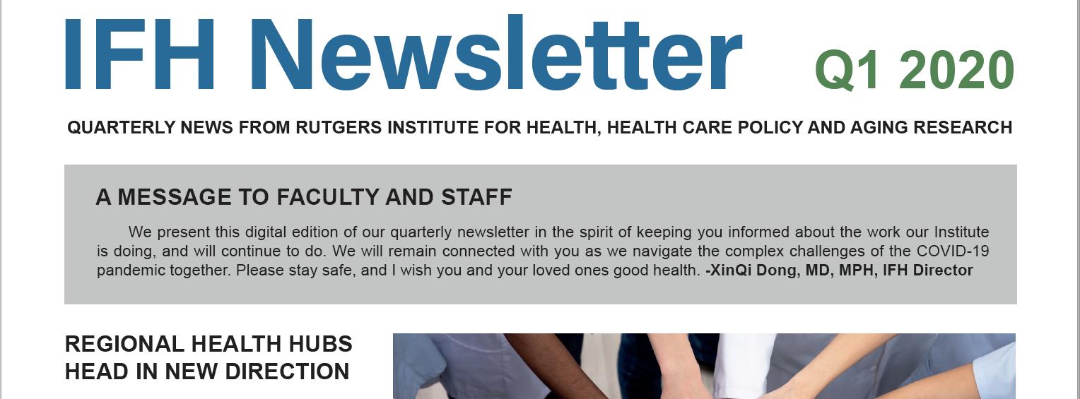 IFH Newsletter Q1 2020